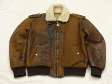 *CHEVIGNON FLIEGER LEDERJACKE*OLD FLIGHT JACKET*PARIS*VINTAGE*GR: M*RARITÄT