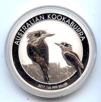 2017 Australia Kookaburra .999 Silver BU Coin 1 oz - Australian bullion