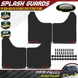 4pcs Black Colour Universal Splash Guards Mud Flaps Mudflap for Nissan Patrol GU