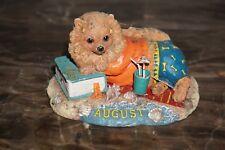 Danbury Mint August Pomeranian Perpetual Calendar Dog of the Month