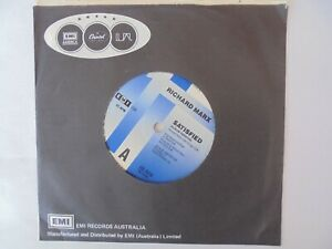 Richard Marx satisfied 45RPM   (Very Good Condition)