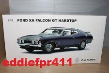 1/18 1972 FORD XA FALCON GT HARDTOP COUPE IN WILD VIOLET PURPLE BIANTE AUTOART