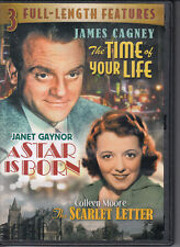 The Time of Your Life - A Star is Born - The Scarlet Letter - 3 Movies - DVD