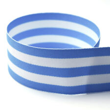 "5/8"" Taffy Striped Grosgrain Ribbon - Many Colors - 20YD & 100YD Options"