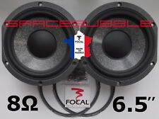 "As New 2x FOCAL Woofer 165mm 6.5"" W Cone Speaker JMlab Chorus Electra Utopia DIY"