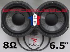 "As New 2x FOCAL Woofer 165mm 6.5"" W Cone Speaker JMlab Chorus Electra Utopia DIY"