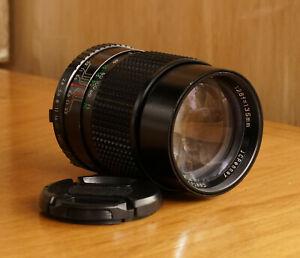 JC Penny 135mm F2.8 Lens good condition- w/ Hood Minolta Mount