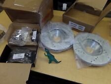 NEW PowerStop JBR709XRCXL Brake Rotors and Pads Z23-503  *FREE SHIPPING*