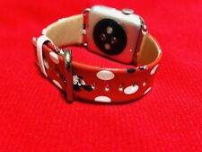 New listing 42mm/44mm Mickey & Minnie Mo 00004000 use Disney apple watch Leather Band