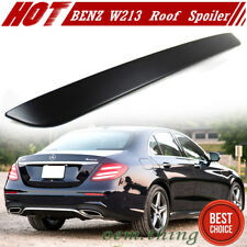 Painted For Mercedes benz W213 E300 E350 4DR OE Type Roof Spoiler ABS 2017-2018