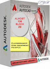 AUTOCAD COLLECTION DWG FILE SOFTWARE  ARCHITECTURE LIBRARY 130 BLOCK 2D