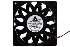 Delta IP55 120mm x 25mm DC 24V Dust Protected, Water Resistant FFB1224HH-T500