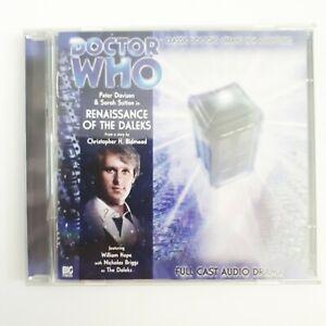 DOCTOR WHO: Renaissance of the Daleks - Big Finish audiobook CD (93)