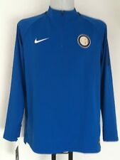 INTER MILAN 2017/18 BLUE SQUAD DRILL TOP BY NIKE SIZE MEN'S XXL BRAND NEW