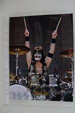 Autógrafo Eric Singer Kiss Rock baterista original Autograph signed photo aprox. 20x30