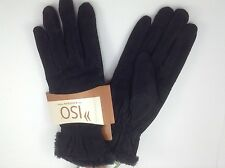Women's isontoner Gloves Black - size M - $40 MSRP - 25% off