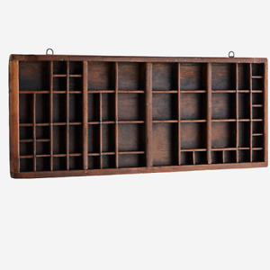 Wall Hanging Recycled Wooden Tray by Madam Stoltz