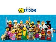 LEGO 71018 SERIES 17 MINIFIGURES - Complete Set of 16 BrandNew Sealed Minifigure