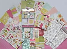 72 Double-Sided Cards with foil accents Simple Stories Snap Save 30/% I Am
