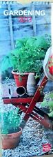 2013 Gardening CALENDAR Slim Line Brown Trout Wrapped Mint Condition