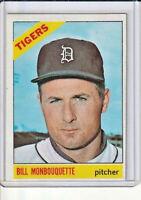 Bill Monbouquette 1966 Topps Baseball Card #429 (D)