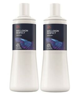 2x Wella Professionals Welloxon Perfect 4% Oxidant 1000 ml