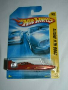 HOT WHEELS 2008 NEW MODELS 35/40 - H2GO ORANGE WITH FLAMES 035/196