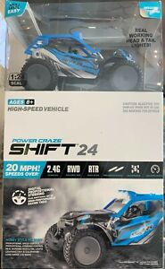 Power Craze Shift 24 Mini RC, High Speed Buggy Blue