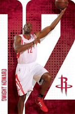 BASKETBALL POSTER Dwight Howard Houston Rockets NBA 2013 22x34 Trends