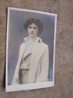 Early Rotary Postcard -- Edwardian Actress - Gertrude Elliott