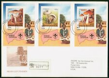 Mayfairstamps Central African Republic 1984 Mushrooms Souvenir Sheets Combo Firs