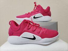 New Mens Nike Hyperdunk X Low Kay Yow Vivid Pink AT3867 609 Size 10.5