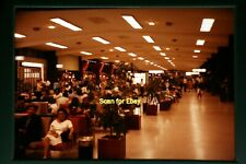 People at an Airport in 1960's, Original Photo Slide aa 4-5b
