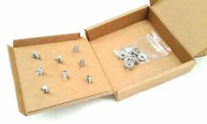 BUMPER BAR BOLTS & NUTS KIT FOR HOLDEN TORANA LC LJ XU1 COUPE SEDAN