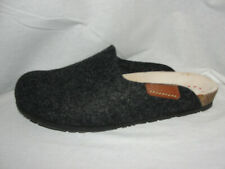 MEPHISTO Shoes Women's Size 11/41 YIN Graphite Gray Wool Air-Relax Clogs Slides