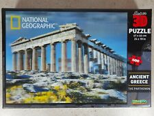National Geographic Ancient Greece The Parthenon 3d Puzzle 500 Piece