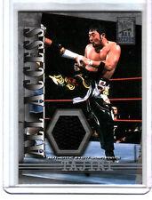 WWE Tajiri 2002 Fleer All Access Event Worn Pants Relic Card