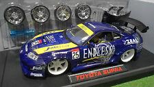 TOYOTA SUPRA TUNING Bleu 1/18 JADATOYS IMPORT RACER 63004 voiture