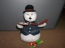 1999 CVS THE ISLAND OF MISFIT TOYS RUDOLPH COLLECTABLE BEAN Sam the Snowman NEW!