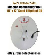 """Minelab Commander Search Coil - 15"""" x 12"""" Semi-Elliptical DD for Minelab"""
