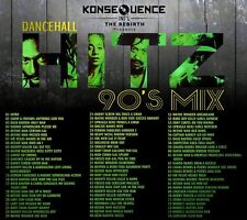KONSEQUENCE SOUND REGGAE DANCEHALL 90'S MIX CD