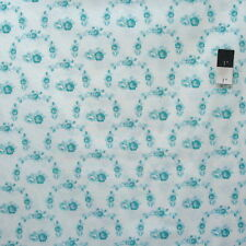 Tanya Whelan PWTW138 Shade Of Rose Trellis Teal Cotton Fabric By The Yard