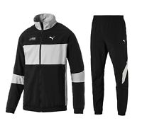 PUMA MERCEDES AMG PETRONAS  Men's Black Track Jacket Pants Tracksuit All Sizes
