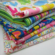 Paquete De Tela Fat Quarters-Niños//Guardería-Mariposas /& Aves-Craft material