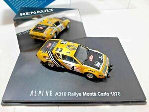 Alpine-Renault A310 IXO 7711421922 1:43 Rallye Automobile de Monte-Carlo 1976 #4