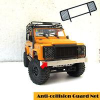 Metallkollisionsschutznetz-Mittelzaun-Gitter für MN Modell 1/12D90 D91 D99S Auto