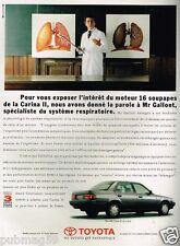 Publicité advertising 1990 Toyota Carina II