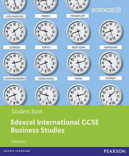 Edexcel International GCSE Business Studies with CD Paperback 9780435046743