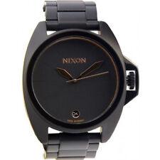 Nixon Anthem Reloj (Todo Negro/Oro Rosa)