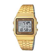 Casio A500WGA-9DF Stainless Steel Resin Strap Watch
